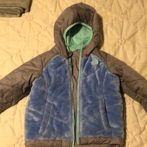 The North Face reversible jacket with hood
